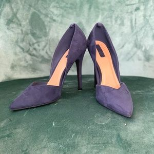 Forever 21 Faux Suede Heels
